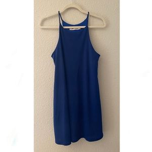 Impreccable Pig Royal Blue Strappy Dress Medium 💙